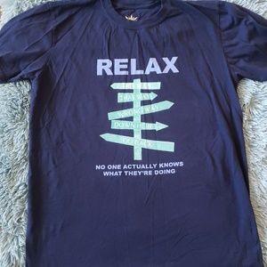 Women's Royal Blue Relax T-Shirt